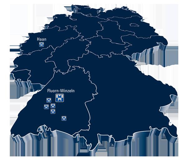 Michelfelder GmbH Standorte Deutschlandweit