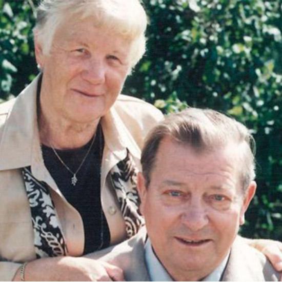Die Unternehmensgründer Walburga und Lothar Michelfelder